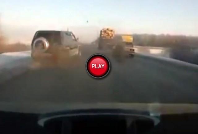 VIDEO: Ce se intampla atunci cand pierzi o roata