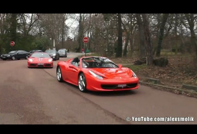 VIDEO: Car and Coffee in Paris