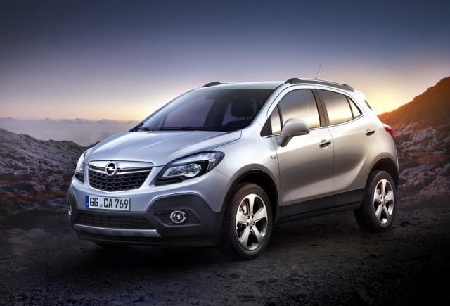 Un nou model Opel: Mokka - primele informatii si fotografii oficiale
