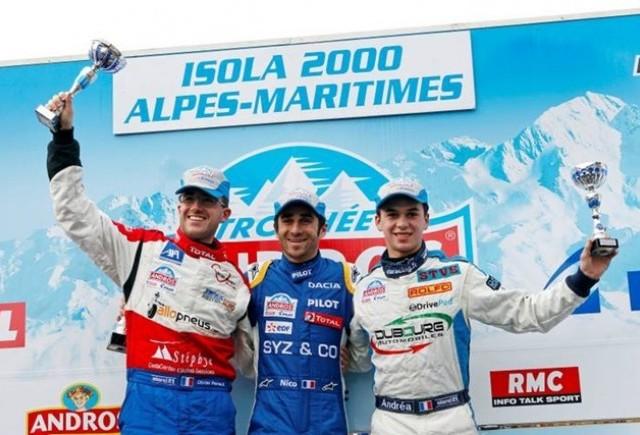 """Dacia Lodgy """"Glace"""" incepe anul cu doua locuri pe podium"""