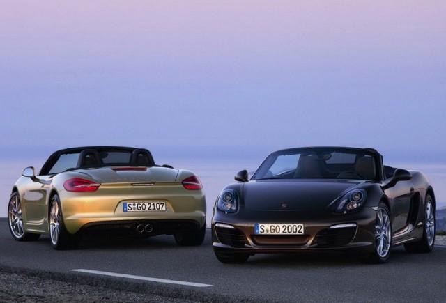 Noul Porsche Boxster se prezinta mai tanar, mai puternic, mai usor