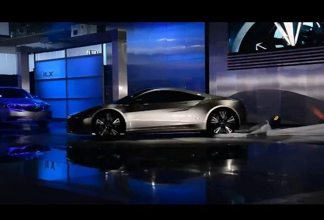 Detroit 2012: Acura NSX Concept