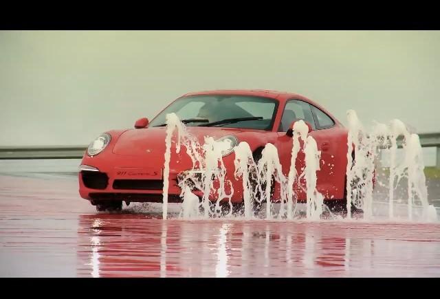 Video: Noul Porsche 911 la Silverstone