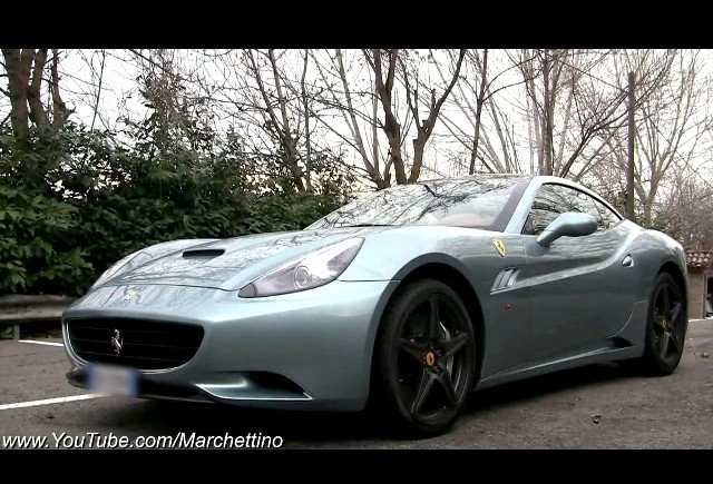 VIDEO: La plimbare cu Ferrari California