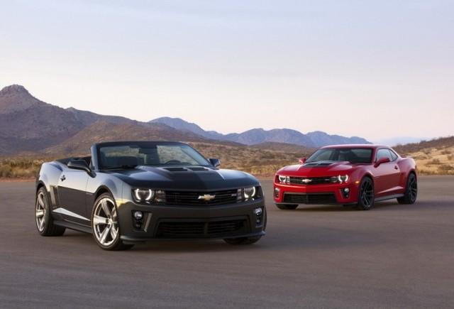 FOTO: Noul Chevrolet Camaro ZL1
