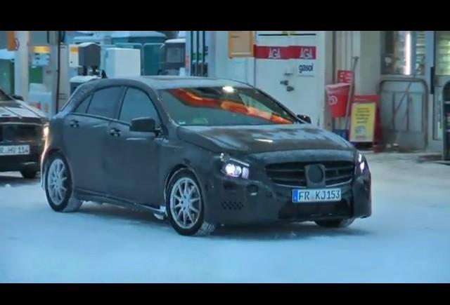 Mercedes-Benz A-Class Hatchback spionat