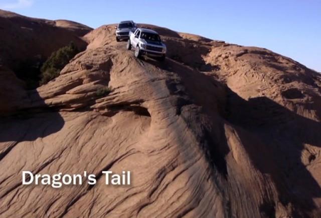 VIDEO: Offroad cu Ford F-150 SVT Raptor