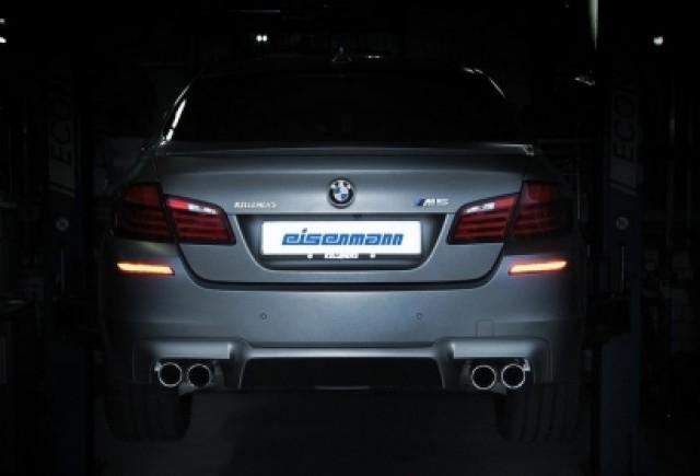 BMW M5 F10M va suna ca o masina sport