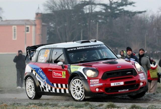 MINI obtine locul al doilea la Monte Carlo, raliul de debut in WRC
