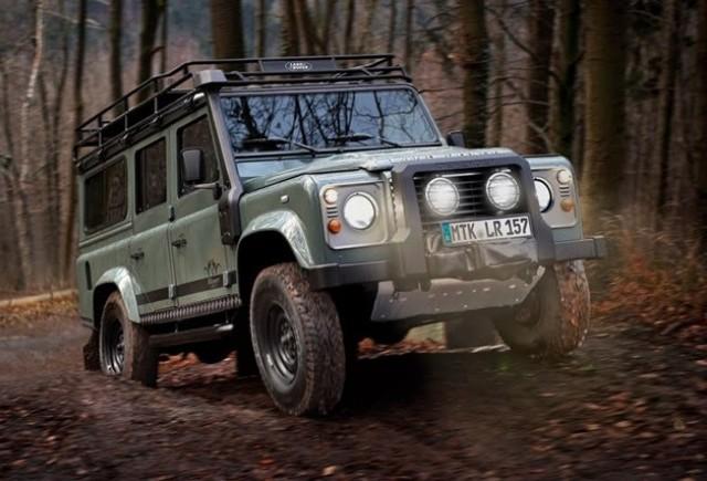 Editie speciala Land Rover: Defender Blaser Edition