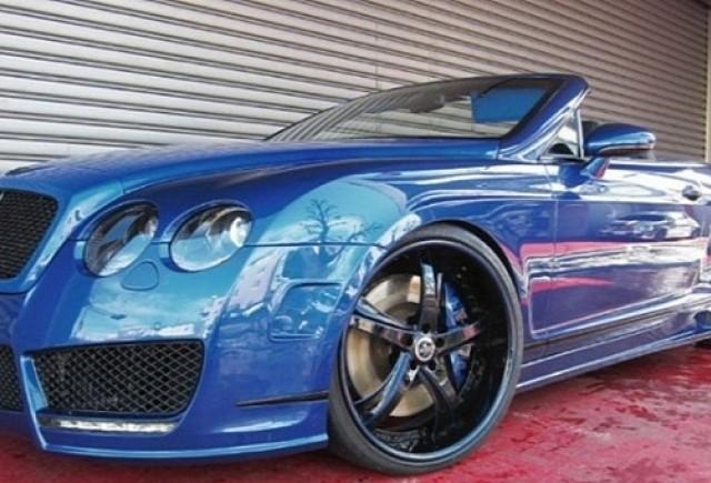 Bentley Continental GTC tunat de Office K