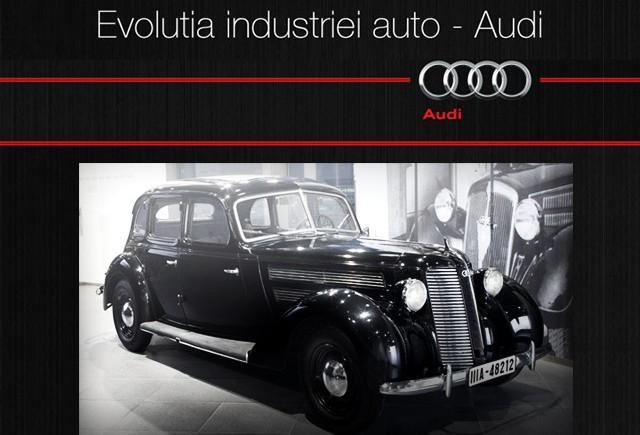 INFOGRAFIC: Evolutia industriei auto - AUDI