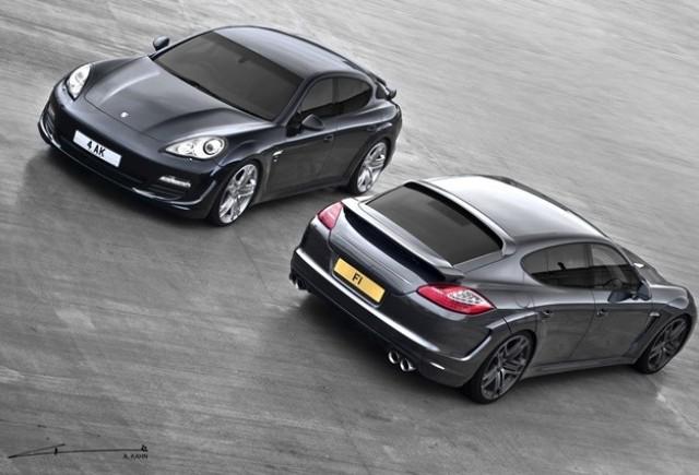 Project Kahn tuneaza Porsche Panamera