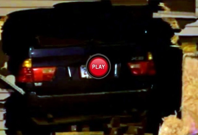 VIDEO: Cum ar fi sa aterizeze un BMW X5 pe tine in timp ce dormi