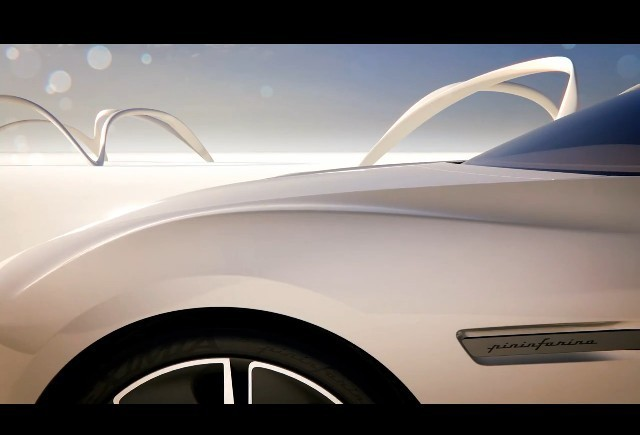 Al patrulea teaser Pininfarina Cambiano Concept