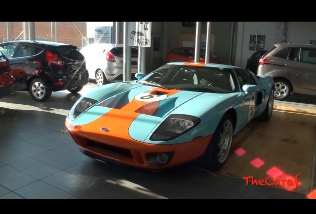 VIDEO: Ford GT Gulf Heritage Edition