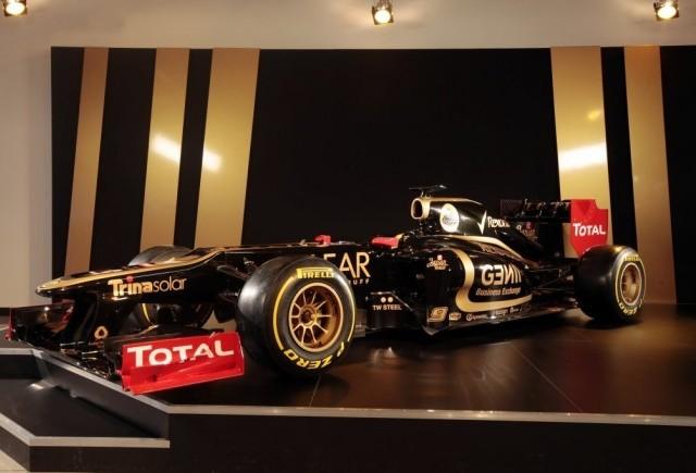 Monopostul Lotus de Formula 1 a fost lansat oficial
