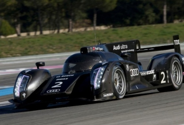 Audi Hybrid intra in competitia Le Mans 2012