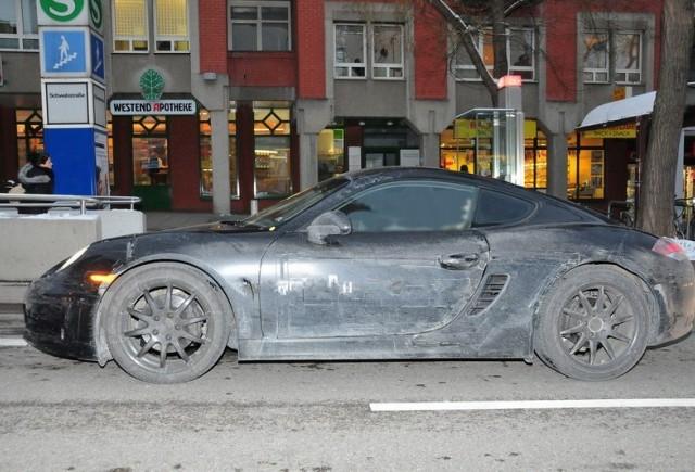Foto-spion: Noul Porsche Cayman S
