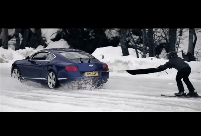 VIDEO: 4 Schiori vs  Bentley Continental GTC