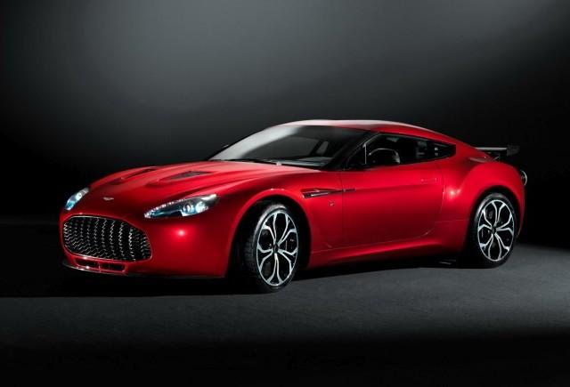 Primele imagini cu Aston Martin V12 Zagato