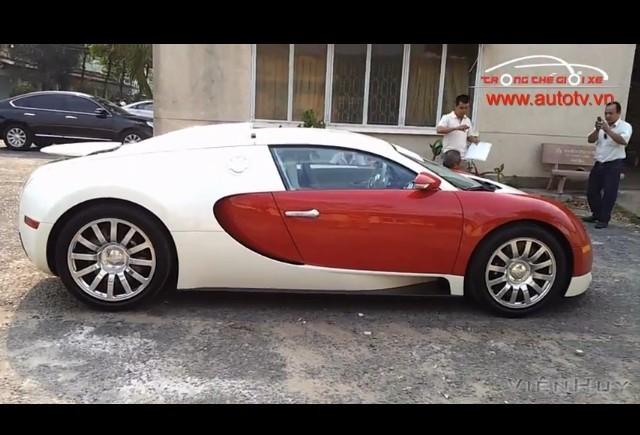 VIDEO: Un Bugatti Veyron in Vietnam