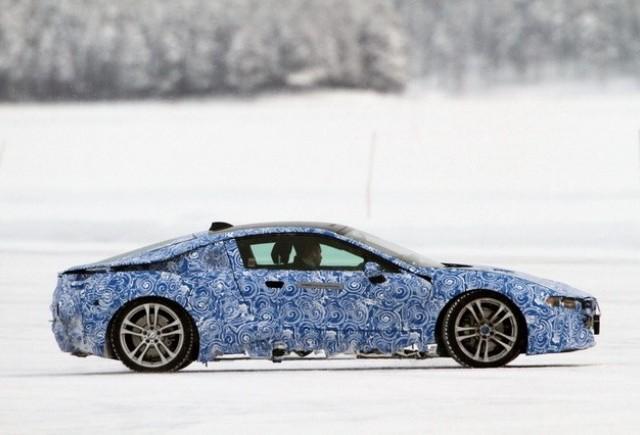 BMW i8 a fost spionat