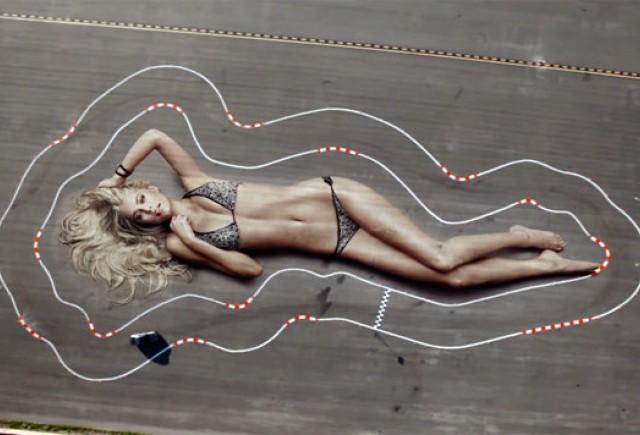 VIDEO: Sa facem un circuit folosind formele trupului feminin