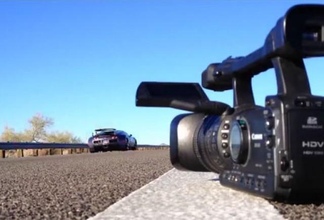 VIDEO: Pe drumurile publice cu Bugatti Veyron