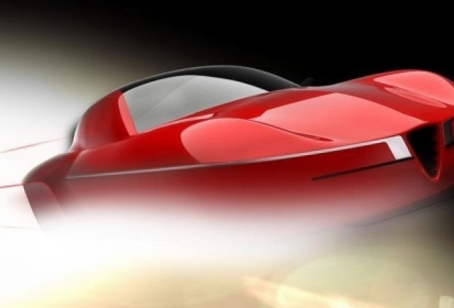 Teaser: Carrozzeria Touring Superleggera Disco Volante 2012