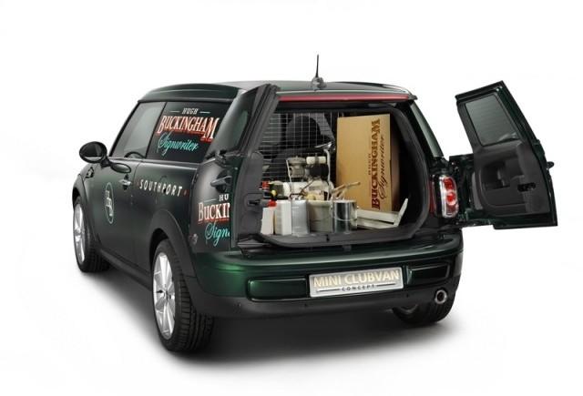 MINI Clubvan Concept: transport marfa in stilul MINI