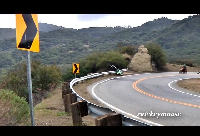 VIDEO: Accident cu Suzuki GSX-R