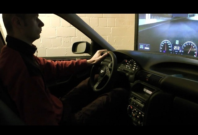 VIDEO: Cockpit pentru jocuri