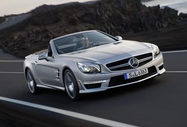 VIDEO : Noul Mercedes-Benz SL63 AMG