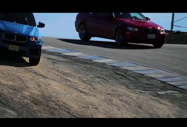 BMW X5M sau M3 Coupe se descurca mai bine in viraje?