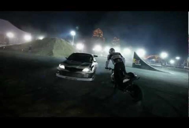Spectacol incendiar la Qatar Motorshow 2012