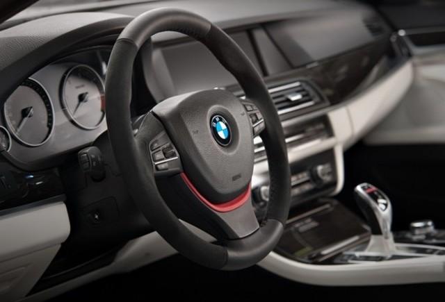 Vilner Studio reinventeaza interiorul sedanului BMW Seria 5