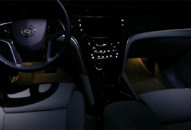 VIDEO: Joc de lumini cu Cadillac XTS 2013