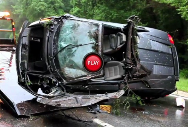VIDEO: Lamborghini Gallardo Spyder facut praf