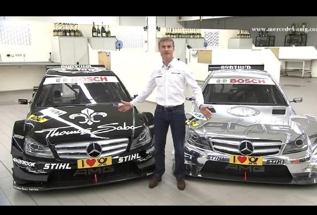 Coulthard prezinta AMG Mercedes C-Coupe DTM Racer