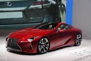 GENEVA 2012 LIVE: Lexus LF-LC Concept