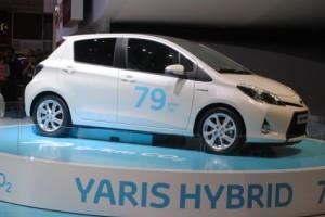 GENEVA 2012 LIVE: Toyota Yaris Hybrid