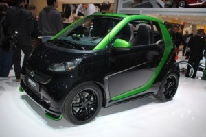 GENEVA 2012 LIVE: Smart Brabus Electric