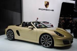GENEVA 2012 LIVE: Porsche Boxster