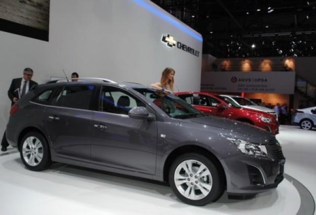 GENEVA 2012 LIVE: Chevrolet Cruze