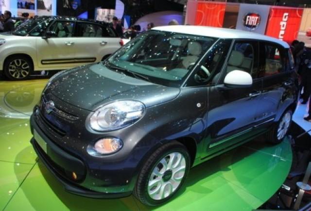 GENEVA 2012 LIVE: Fiat 500L