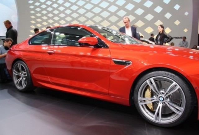 GENEVA 2012 LIVE: BMW M6 Coupe