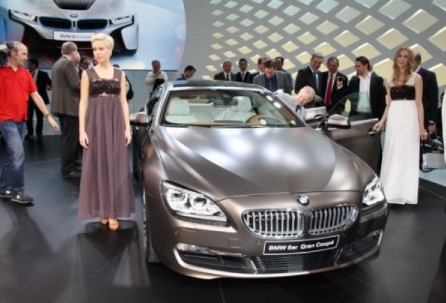 GENEVA 2012 LIVE: BMW M6 GranCoupe