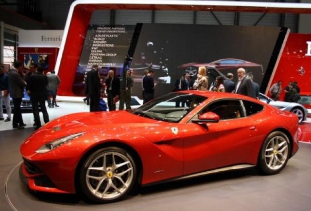GENEVA 2012 LIVE: Ferrari F12 Berlinetta