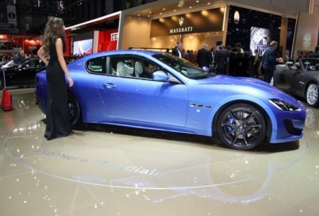 GENEVA 2012 LIVE: Maserati GranTurismo Sport